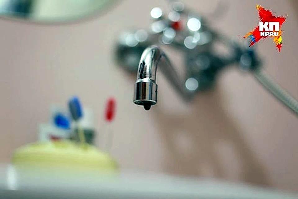 Горячую воду по графику должны отключать на две недели, не больше.