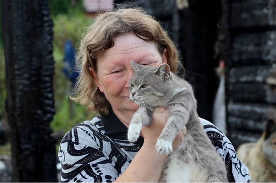 «Если бы не она…»: душераздирающая история семьи из ЕАО, которую спасла беременная кошка