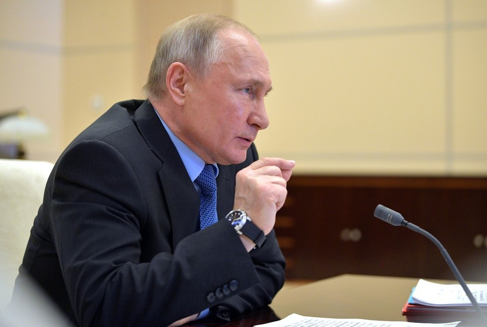 Путин заявил, что в России началось восстановление от последствий кризиса, вызванного эпидемией коронавируса