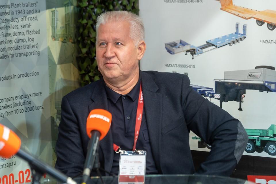 Валерий Иванович Филатов, генеральный директор завода «Уралавтоприцеп»