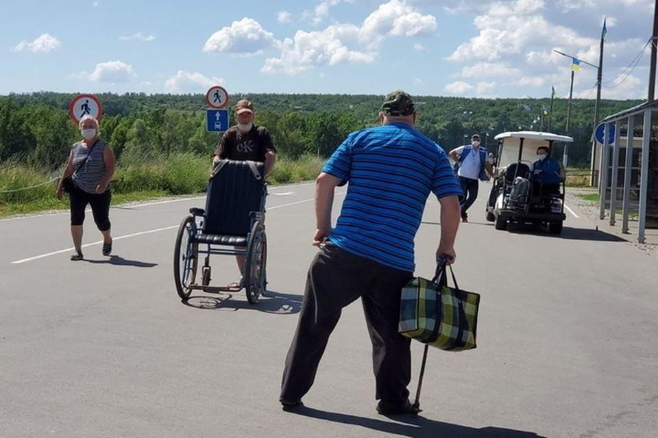На Украине придумывают новые способы, чтобы заставить пожилых людей ездить за своими пенсиями. Фото: ГМ «Пролиска»