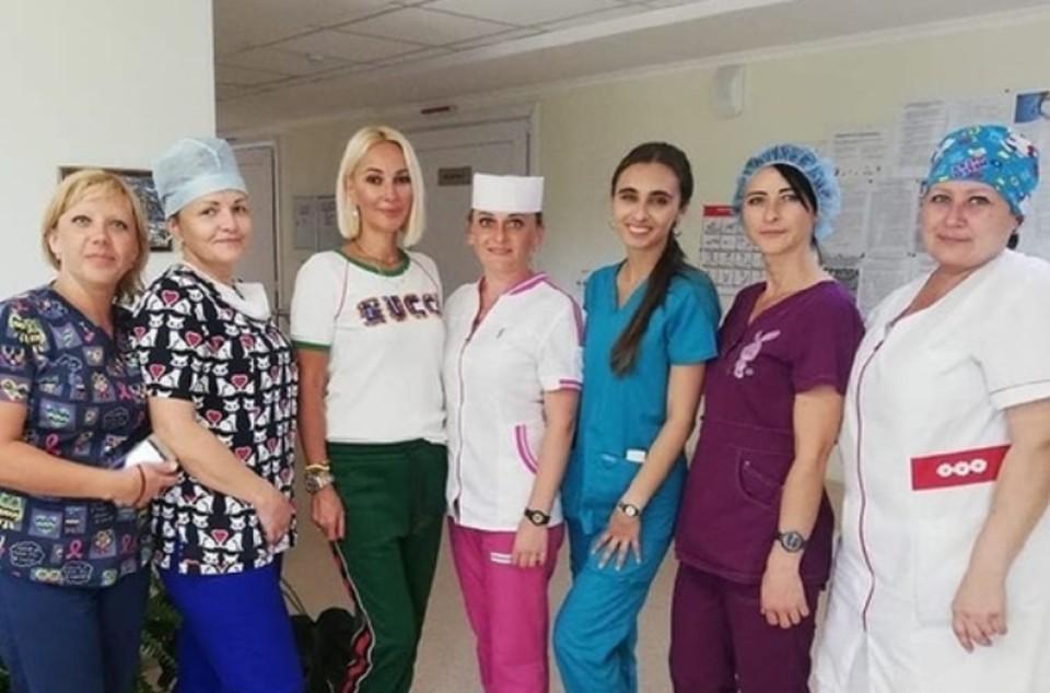 Мать Леры больше недели находится в больнице им. Семашко. Фото: Instagram Леры Кудрявцевой