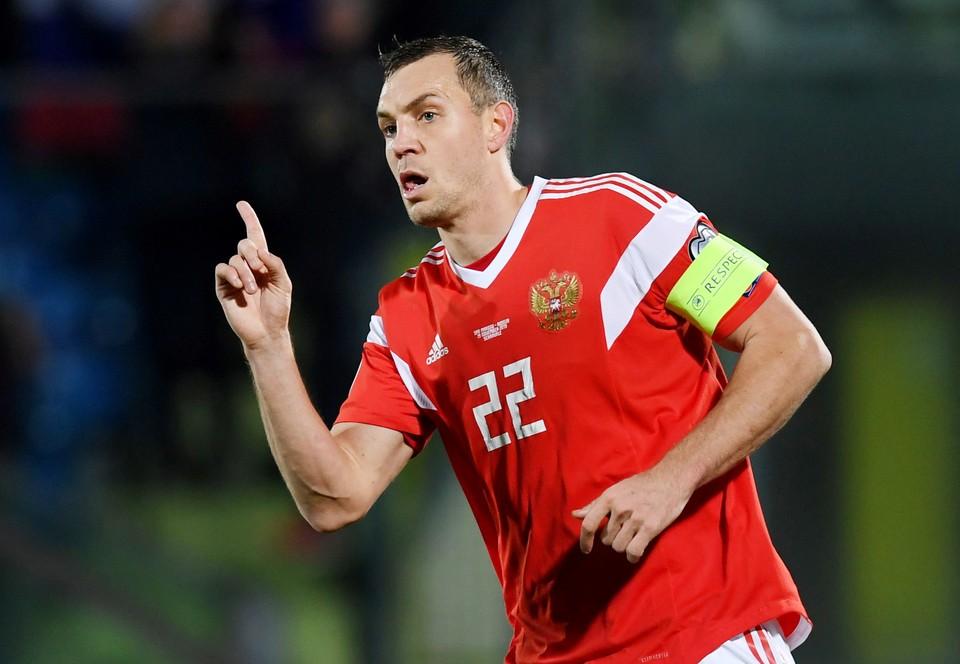 Дзюба забил Сербии.