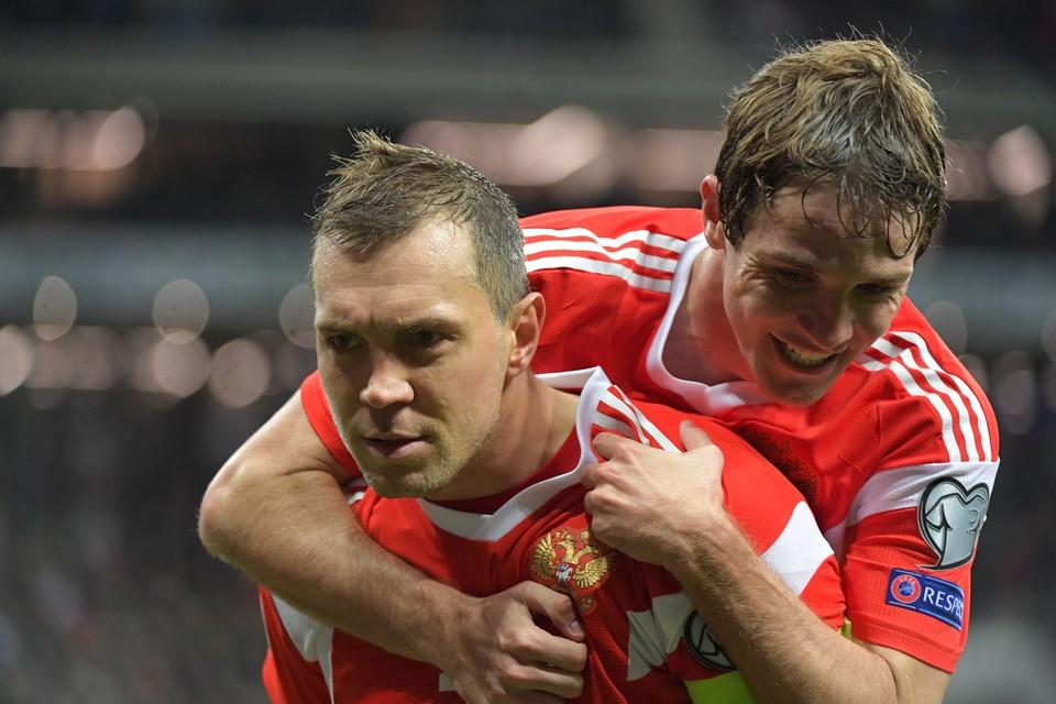 Россия провела отличный матч против Сербии.