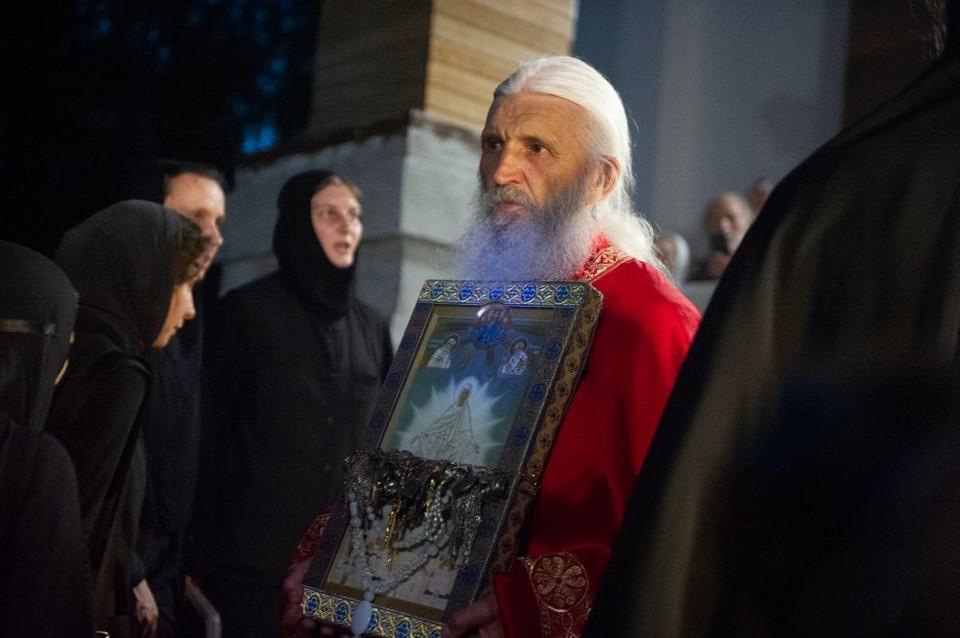 Схиигумен Сергий уже несколько месяцев находится в конфликте с РПЦ. Ранее она лишила его сана.