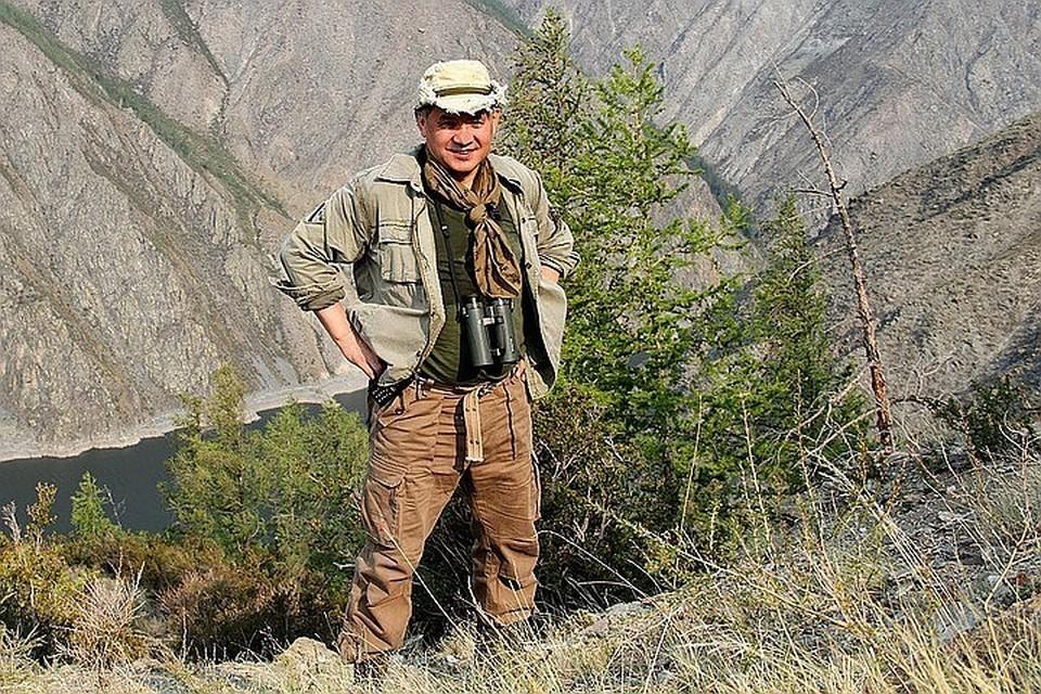 Президент Русского географического общества, министр обороны России Сергей Шойгу.