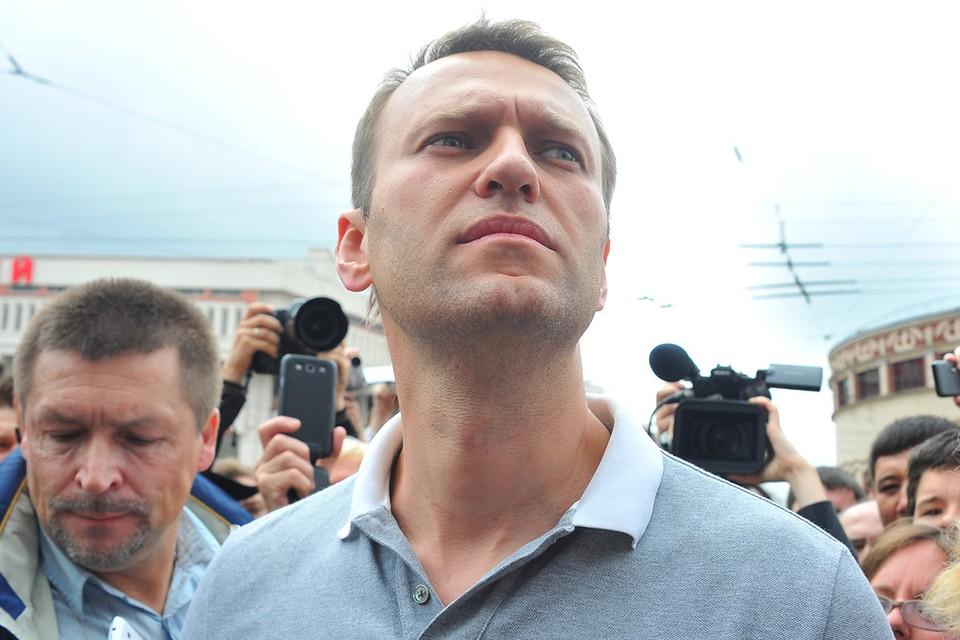 Политик Алексей Навальный. Фото: Ирина ИВАНОВА