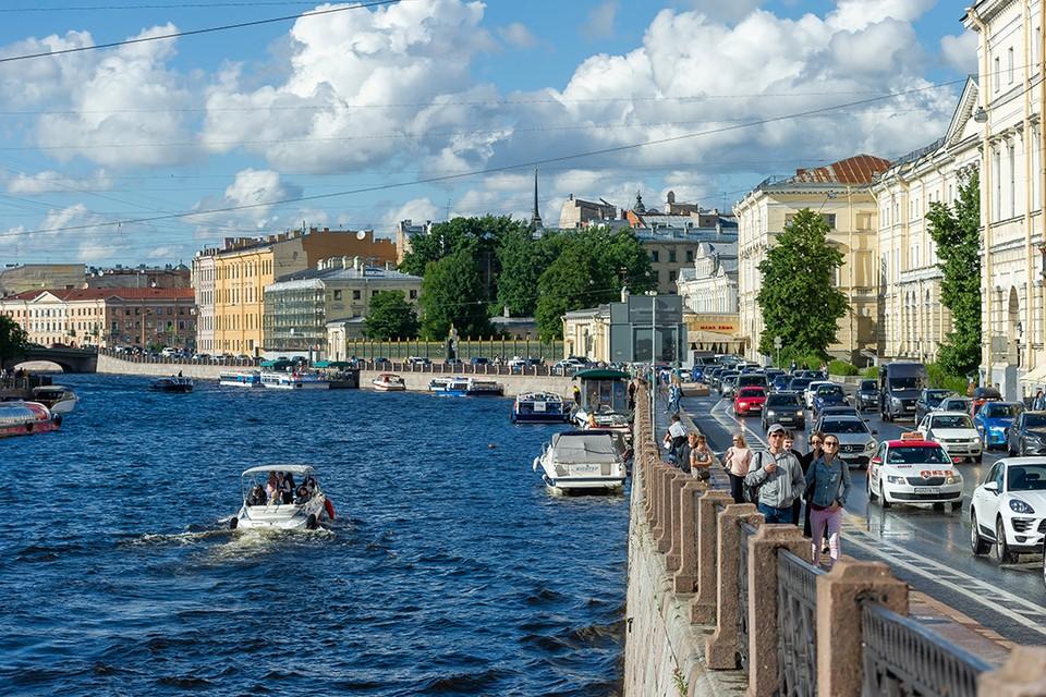 Комитет по транспорту намерен ввести запрет на передвижение по центру города для маломерных судов.