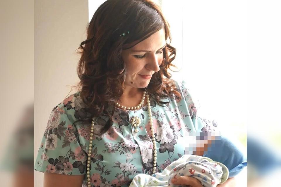 Татьяна родила на 26-й неделе беременности. Фото героя публикации.