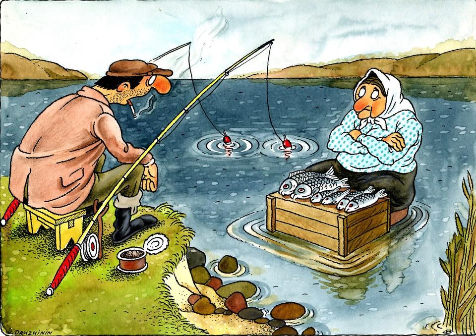 Ну что, рыбаки, можно совместить приятное с полезным: и отдохнуть, и заработать?