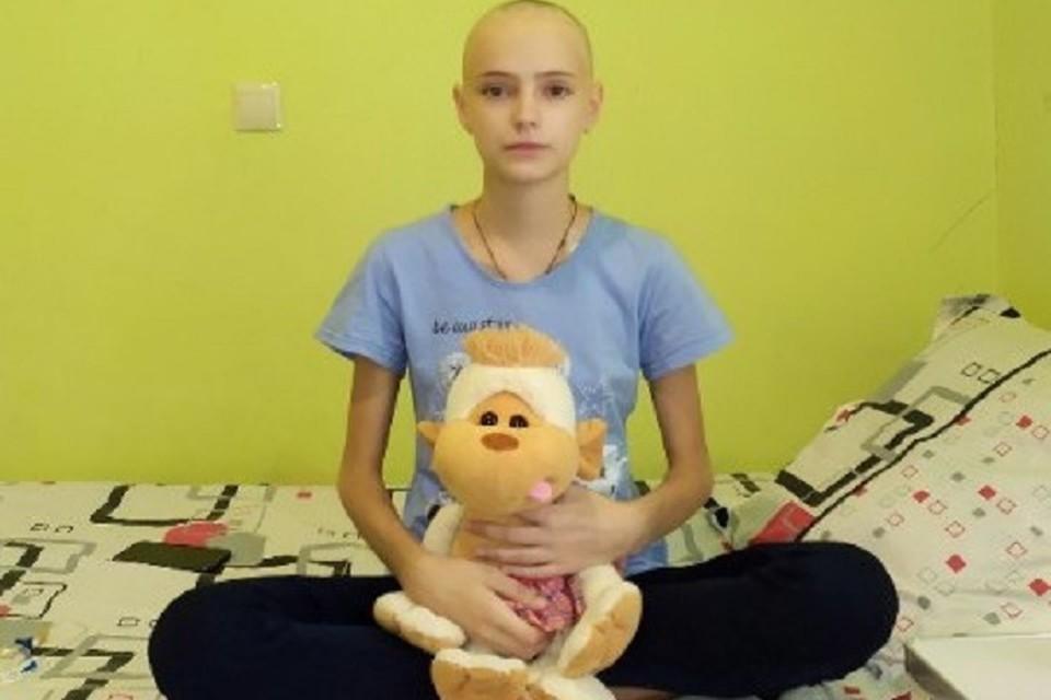 У Дианы диагностировали острый лимфобластный лейкоз – рак. Фото: Время добрых