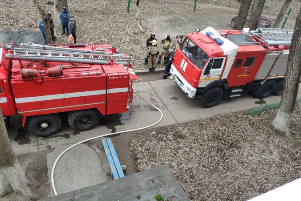В Ростовской области четверо детей пострадали при пожаре в техникуме