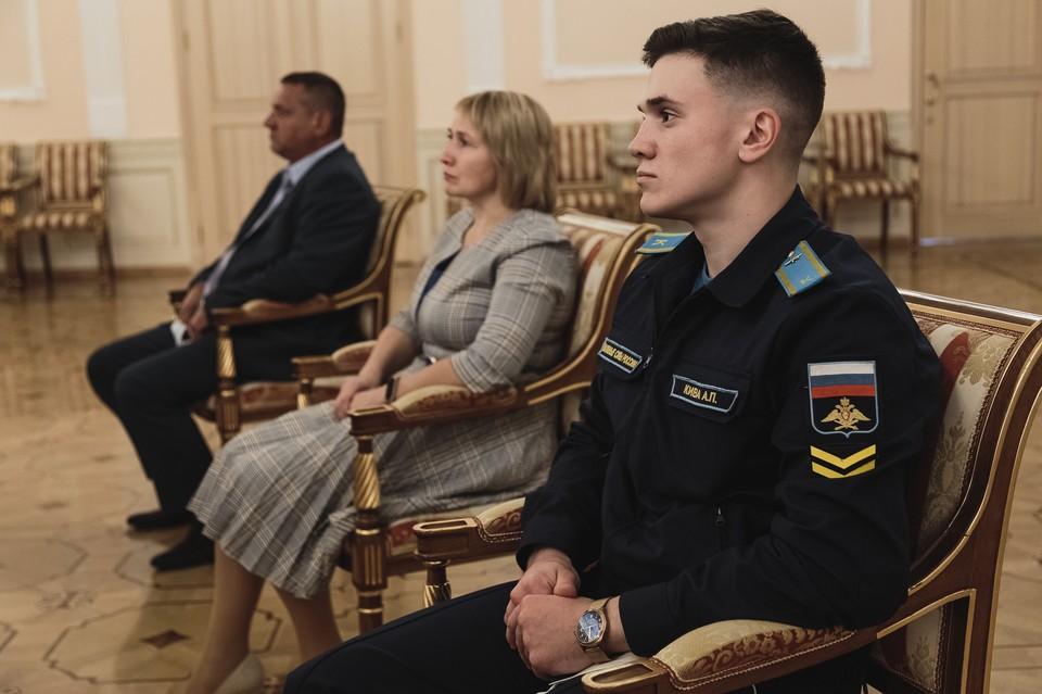 За героический поступок молодого человека представили к награде. Фото: пресс-служба Центрального военного округа