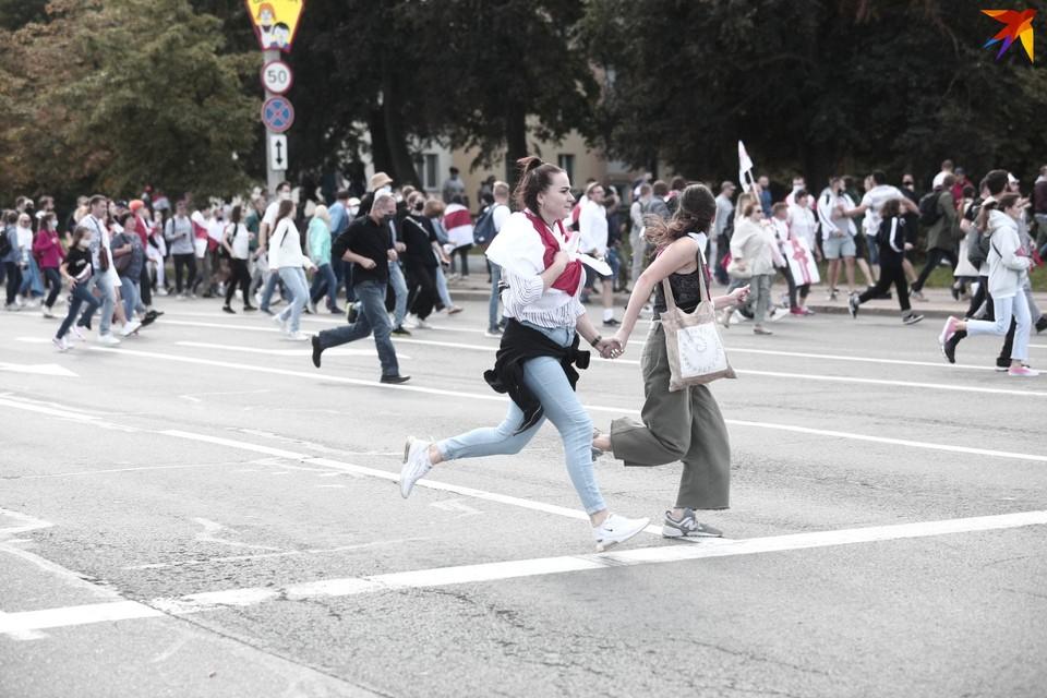 В Минске, Бресте и других городах страны 13 сентября прошли протестные акции.