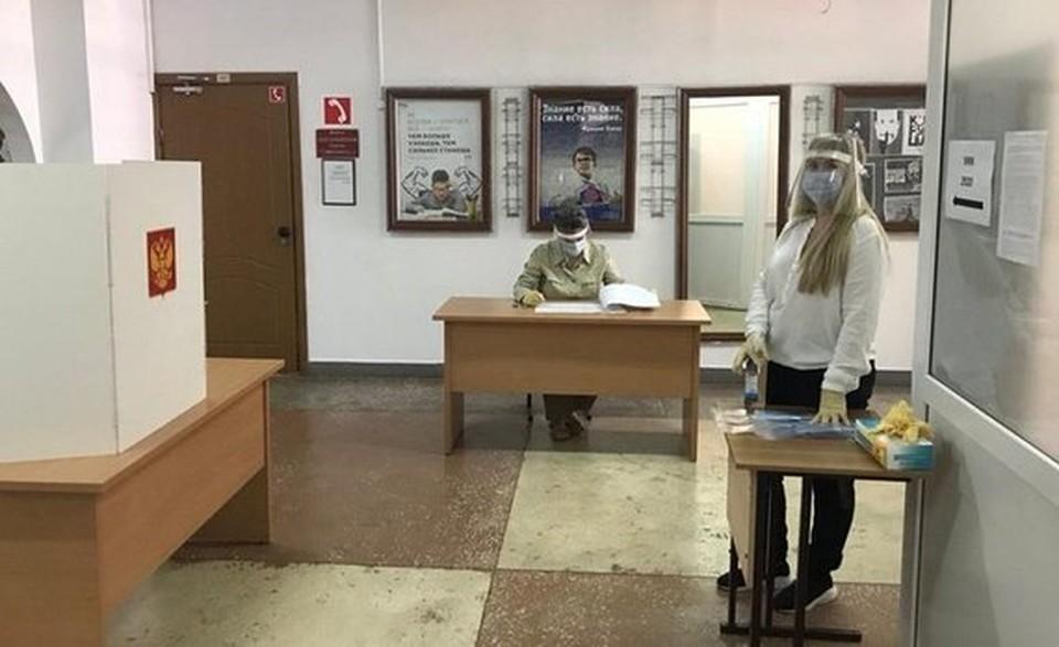Толп народа на избирательных участках не наблюдалось. Фото: правительство Самарской области