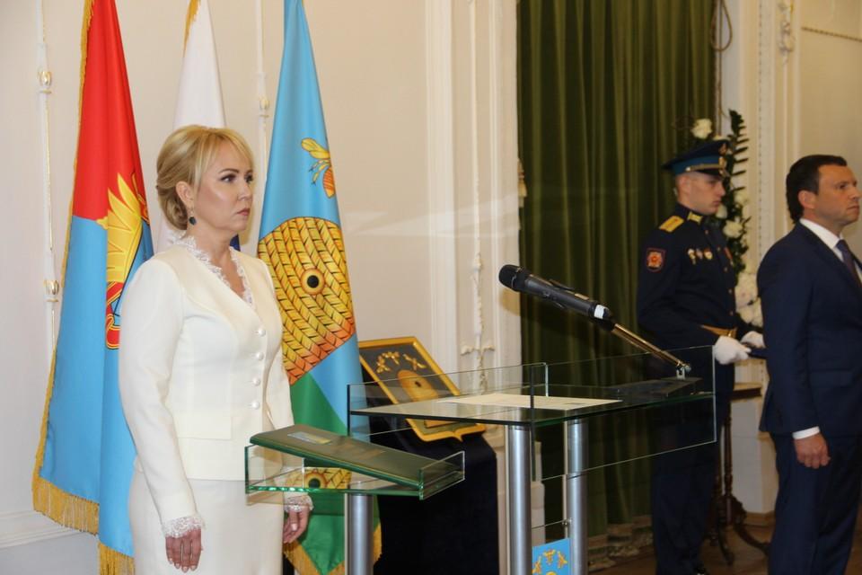 Мэром Тамбова Наталия Макаревич стала год назад