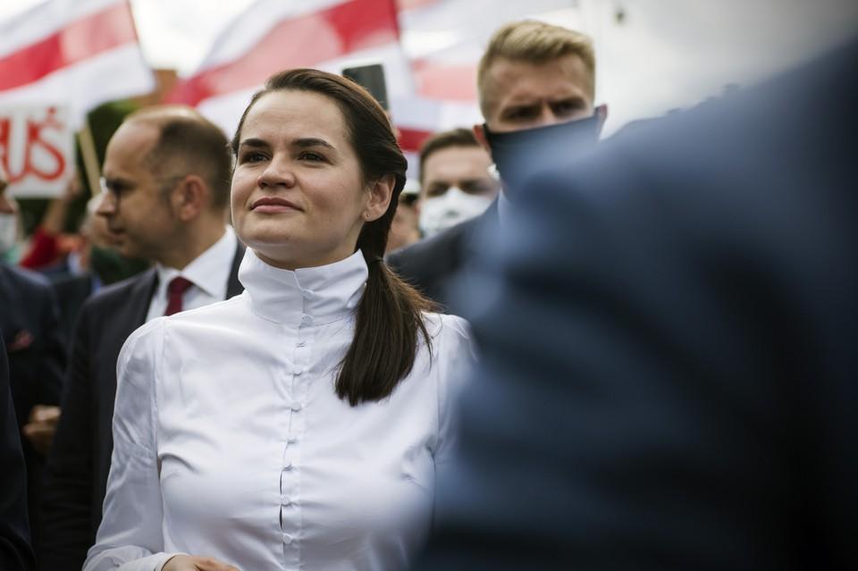 Александру Лукашенко предоставят «гарантии безопасности», если он «мирно уйдёт», заявила Светлана Тихановская