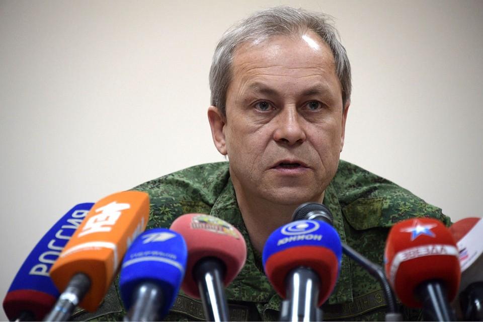 Заместитель командующего оперативным командованием ДНР Эдуард Басурин