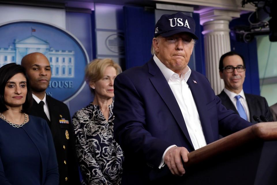 «Провал и кошмар»: Трамп подверг Байдена жёсткой критике