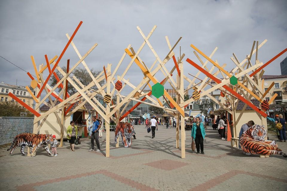 Во Владивостоке открылась таежная ярмарка. Фото: Игорь Новиков
