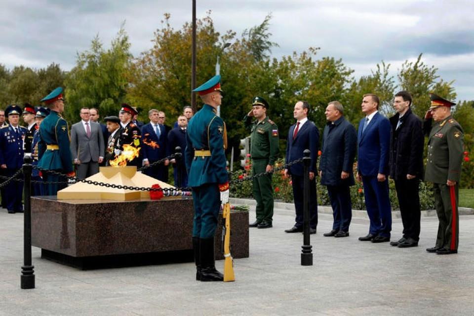 Комплекс состоит из пяти площадок, посвященных каждому году войны. ФОТО: филиал «Россети Центр Ярэнерго»