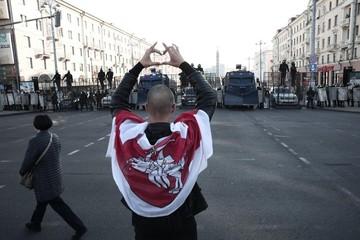 По Минску прошел самый бестолковый марш протеста
