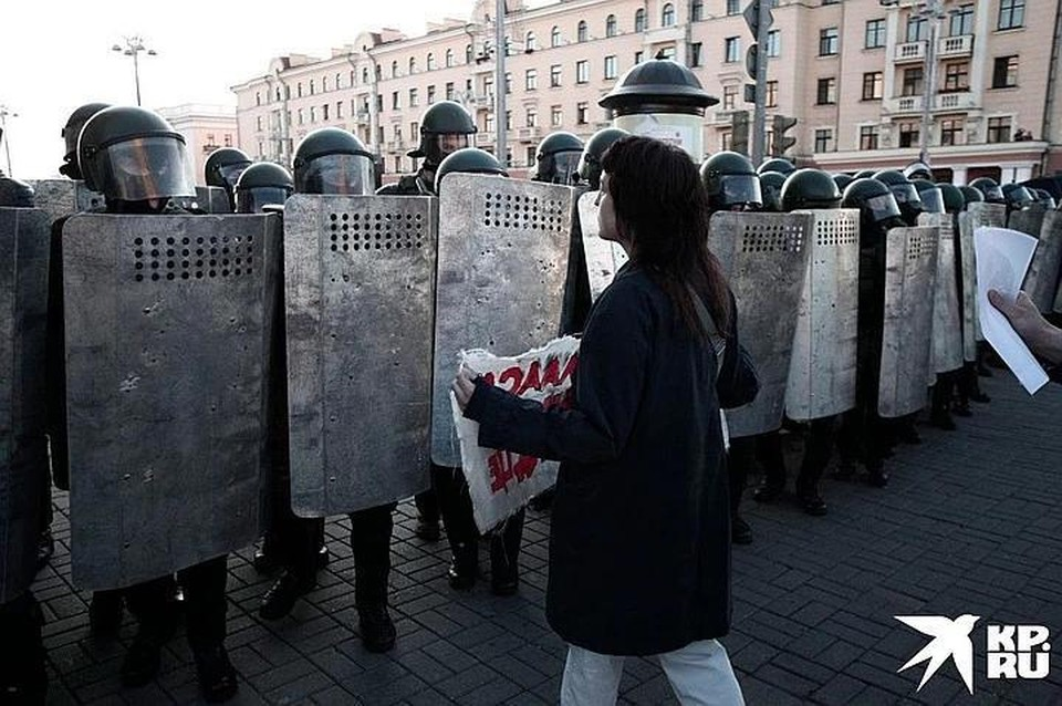 Среди протестующих наблюдался «разброд и шатание»
