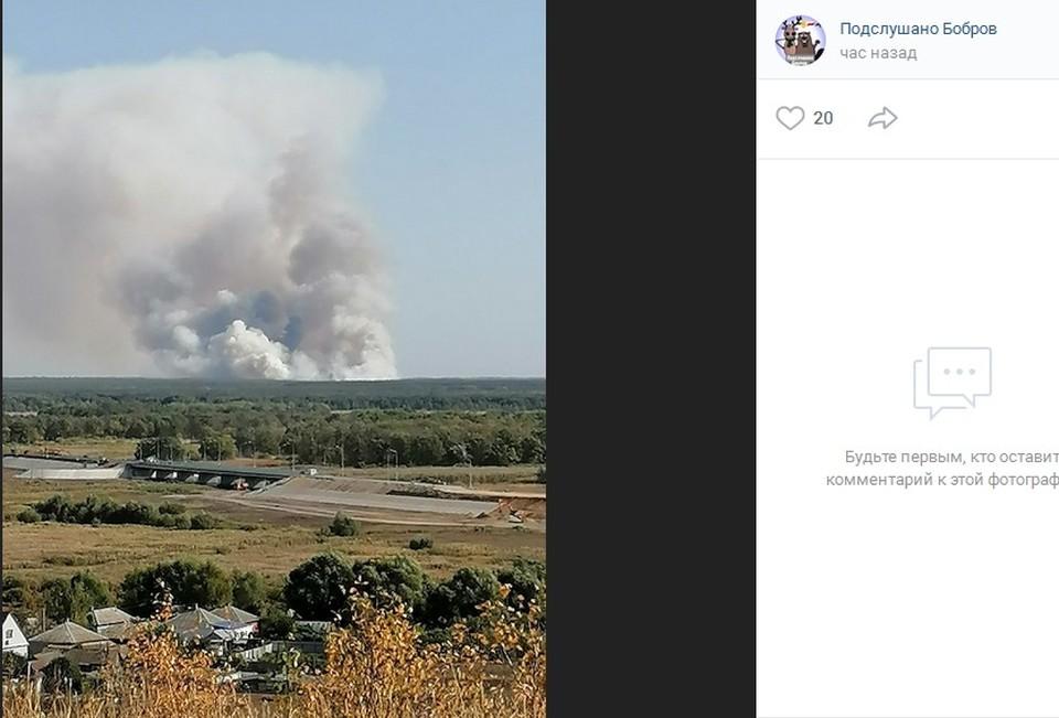 """страница сообщества """"Подслушано. Бобров"""" соцсети """"Вконтакте"""""""