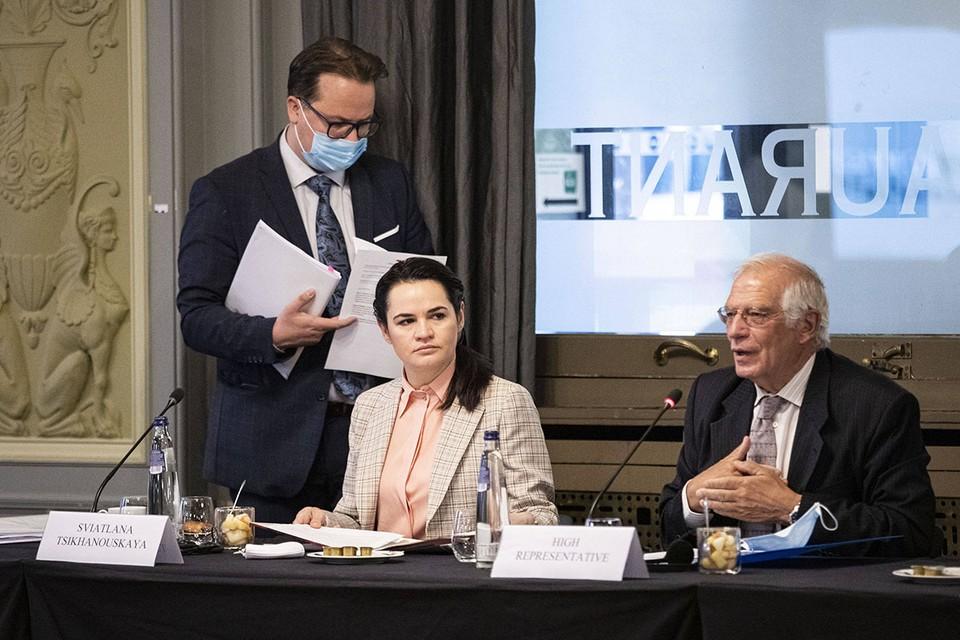 На заседание, где обсуждался вопрос, пригласили Светлану Тихановскую