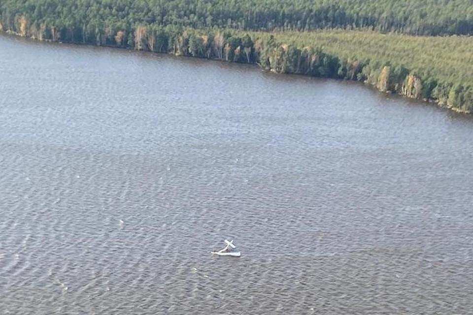 По данным прокуратуры, в самолёте находились четыре человека. Фото: СК на транспорте