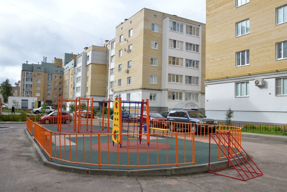 Новую площадку установили по программе поддержки местных инициатив Фото: администрация Твери