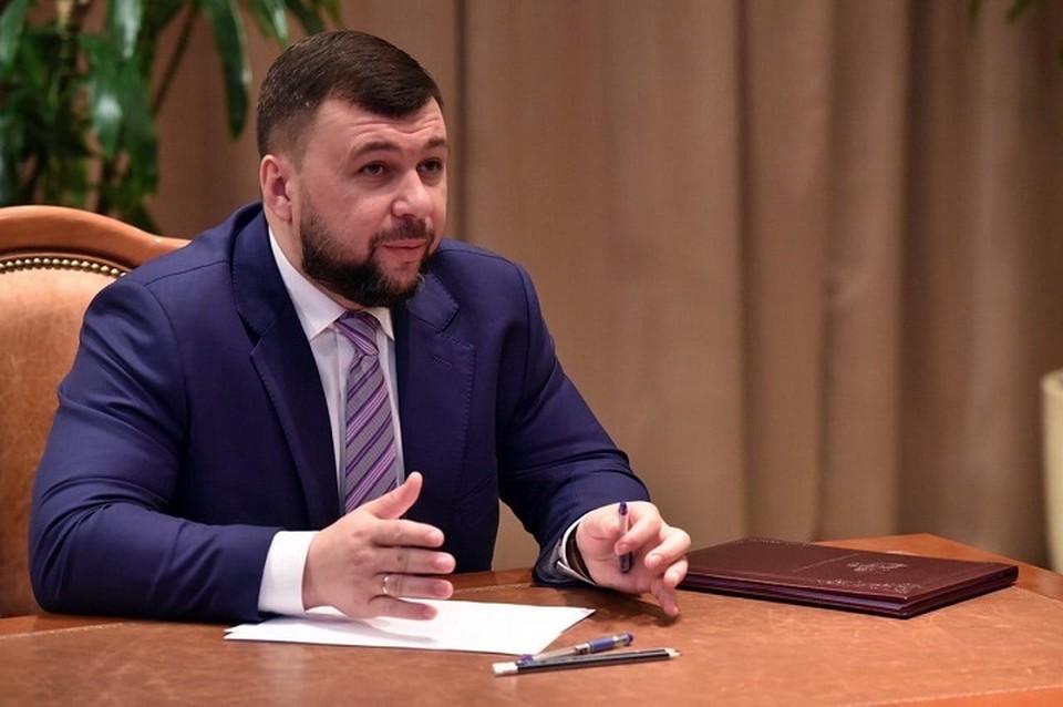 Прямая линия с Главой ДНР Денисом Пушилиным в Республике проходит регулярно. Фото: Официальный сайт Главы ДНР