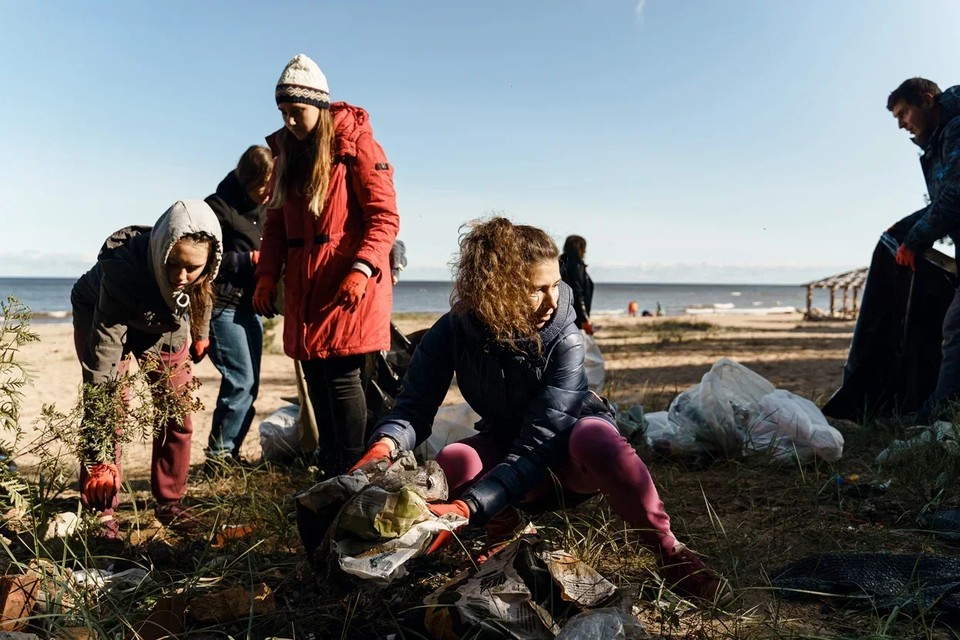 Уборка мусора на Ладоге, Ленобласть