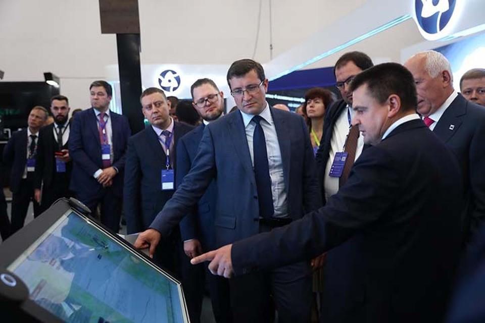 На конференции ЦИПР нижегородцы представили передовые цифровые проекты. ФОТО: Кирилл Мартынов.