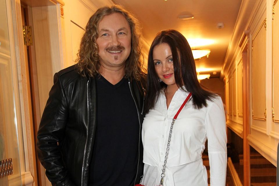 Композитор Игорь Николаев с супругой певицей Юлией Проскуряковой