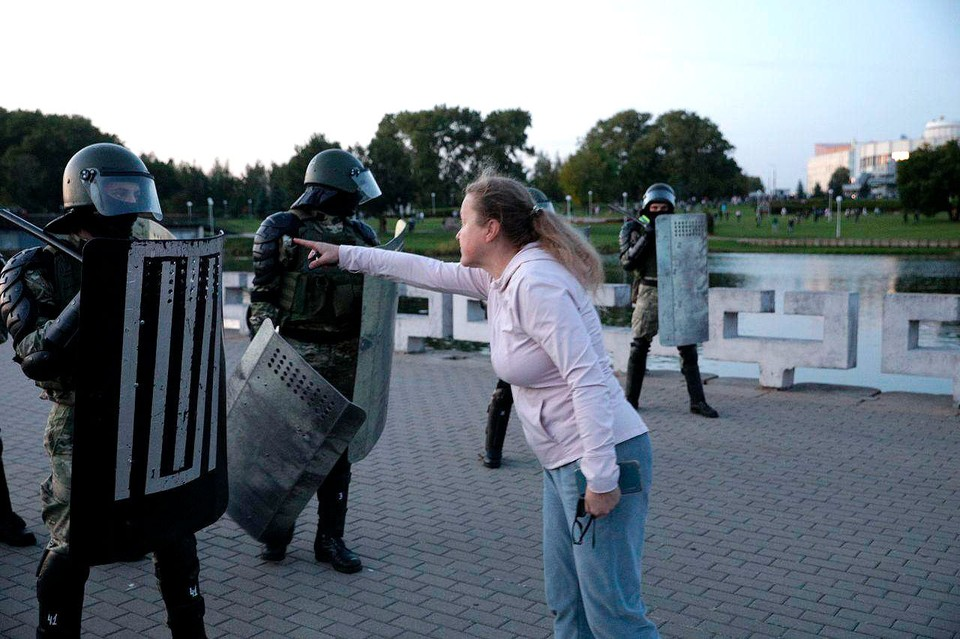 В столице Белоруссии прошли протесты после инаугурации президента Александра Лукашенко