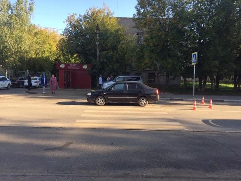 Девочку сбили на пешеходном переходе Фото: УГИБДД России по Тверской области