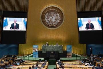 Президент Казахстана заявил о твердой приверженности целям и уставу ООН