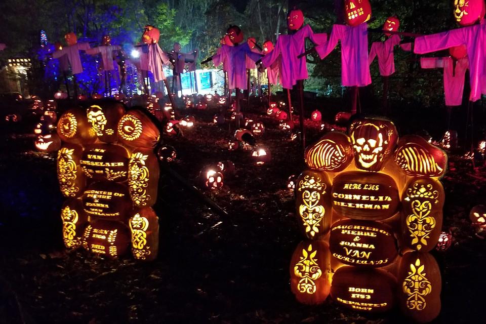 В Нью-Йорке запретили Хэллоуин и Новый год