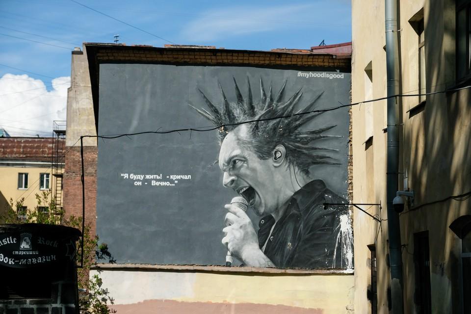 Идею депутатов ЗакСа временно не трогать граффити поддержали в Смольном.