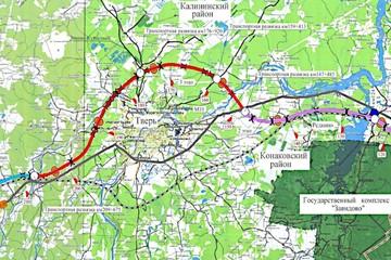 Трассу «Северный обход Твери» планируют начать строить в 2021 году