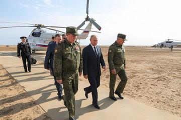 Путину показали удар «Искандеров»