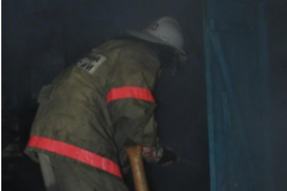 В Ростове загорелась квартира в многоэтажке