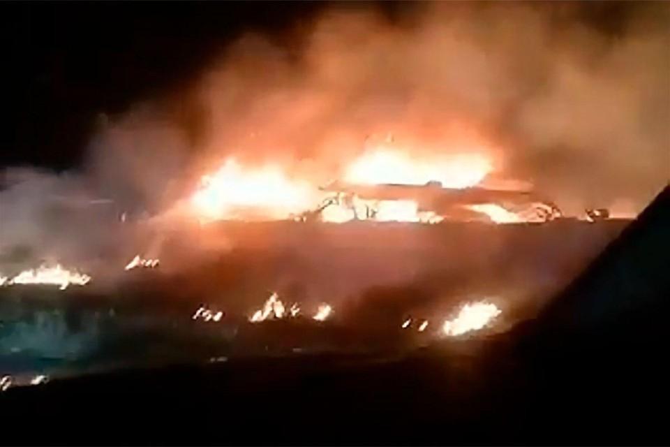 Очевидцы авиакатастрофы Ан-26 под Харьковом слышали взрывы