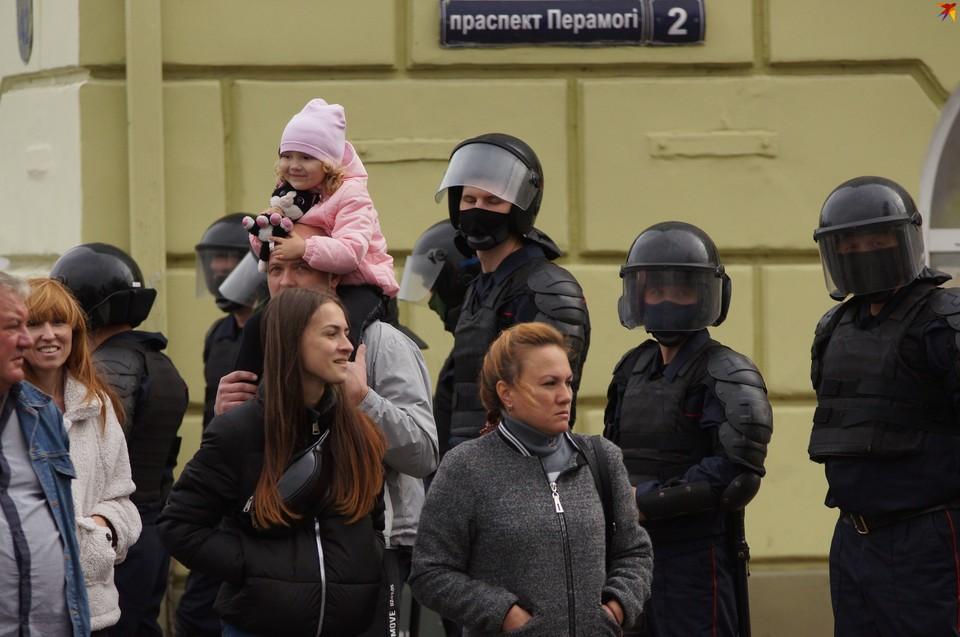 В Гомеле прошла акция в 50-й день протестов