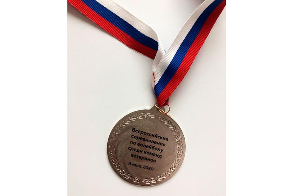 Эта медаль пополнила копилку наград за спортивные достижения Томского университета систем управления и радиоэлектроники. Фото предоставлено пресс-службой ТУСУРа.