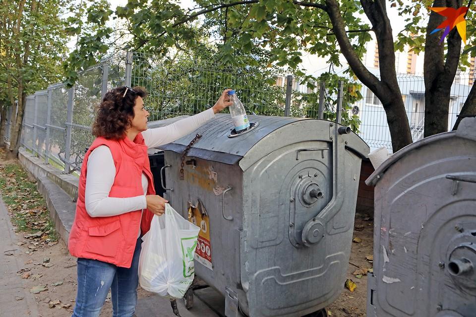 Одна из проблем раздельного сбора мусора - отсутствие отдельных контейнеров для вторсырья.