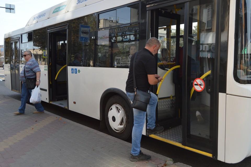 Без масок в автобусы больше нельзя