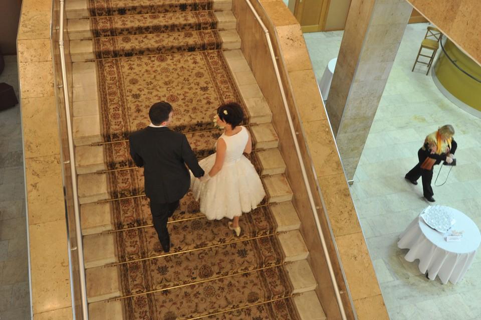 Свадьба прошла на высшем уровне.
