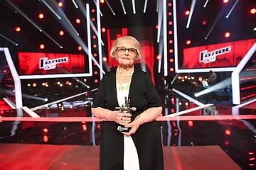 «Я сама не верила в свою победу»: 91-летняя петербурженка Дина Юдина прокомментировала скандал вокруг шоу «Голос. 60+»